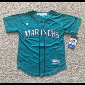 Majestic Seattle Mariners youth jersey
